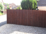New domestic fencing - click to enlarge